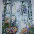 imgb6fa5eb0zikazj クロスステッチ 昔の作品 ガーデン風景