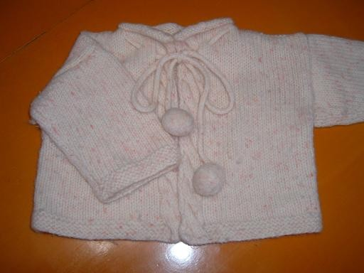 カーディガンimg7725e059zik3zj 娘のための手編みの