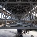 鳴門海峡大橋...の下