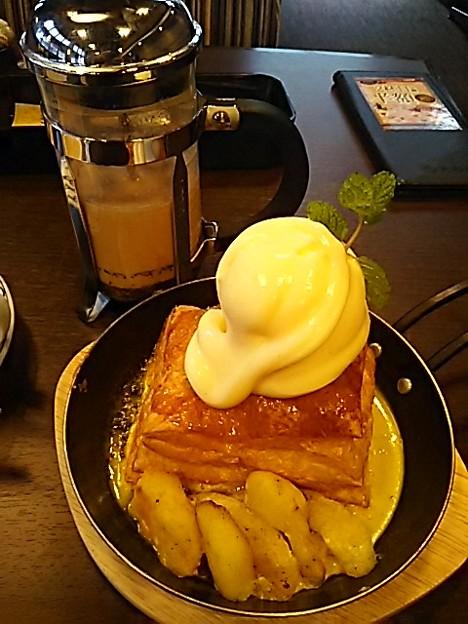 元町珈琲のミルフィーユは美味しかった