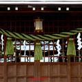 神明社の注連縄