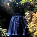 紅葉の王滝