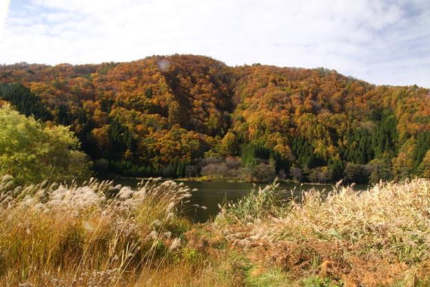 中綱湖の紅葉