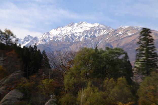 姫川の五竜岳