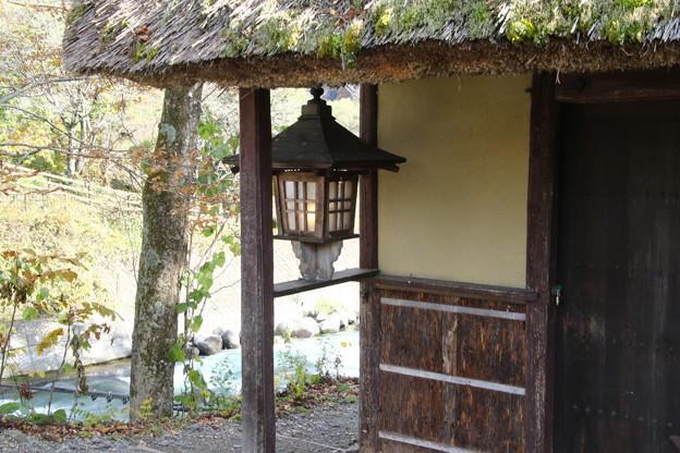 姫川のランプ