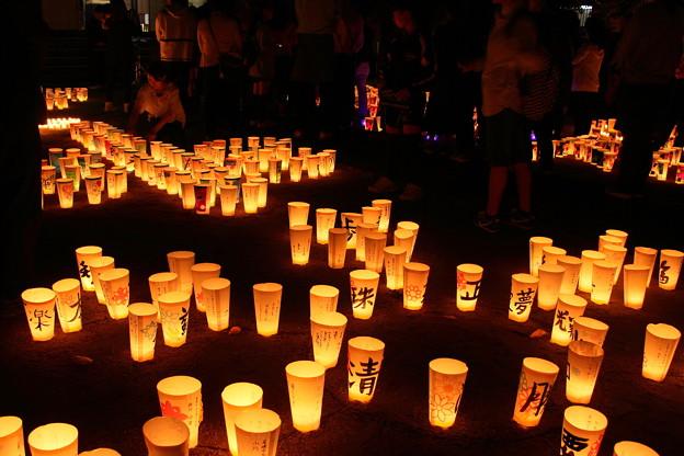 尾道灯りまつり2017 西郷寺境内