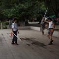 写真: 剣舞