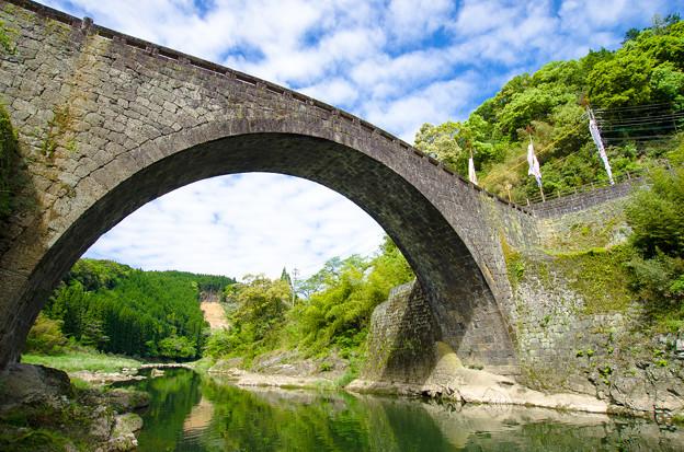 霊台橋を仰ぐ