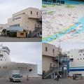 新潟港フェリーナーミナルにて