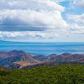 写真: 知床峠より国後島