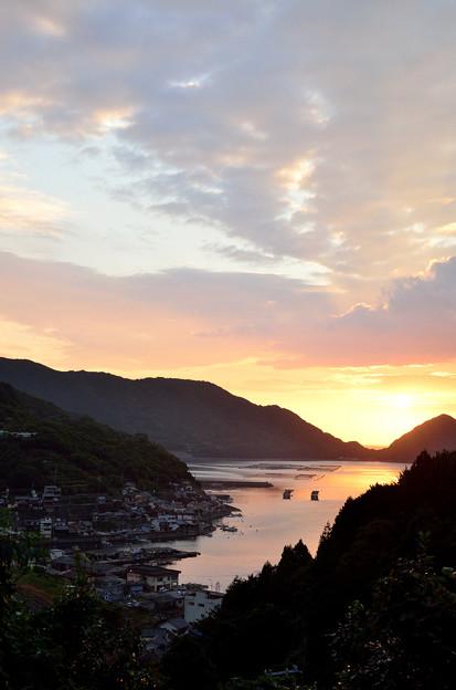 写真: 国道311号から望む二木島の海2