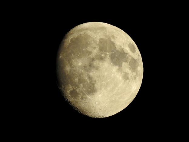 写真: 9月3日の月