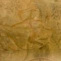 写真: 真ん中に采配をしているヴィシュヌ神
