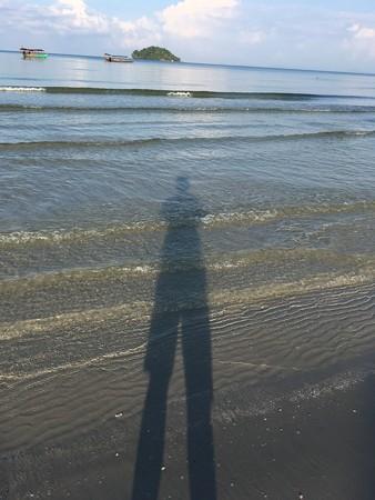 ここら辺は海が綺麗