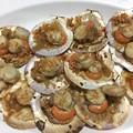 貝もニンニクがきいていて美味しい
