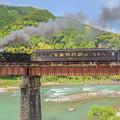 写真: 球磨川第1橋梁