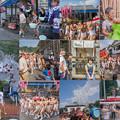 Photos: 火伏地蔵祭collage