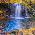 写真: マゼノ滝