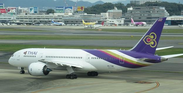 タイ国際 B787-8 HS-TQB  2