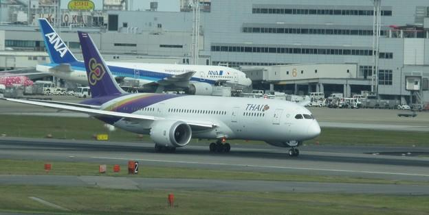 タイ国際 B787-8 HS-TQB  4