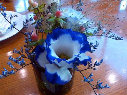 いつも生花が飾ってあるのがスキなんです。