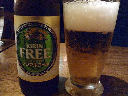 ノンアルコールビール、初体験★