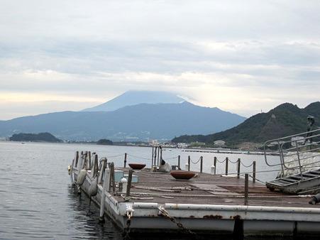 富士山見ながら