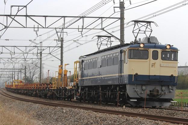 工9773レ EF65 1102+チキ