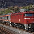 配9740レ EF81 134+209系千ケヨM71編成 8両