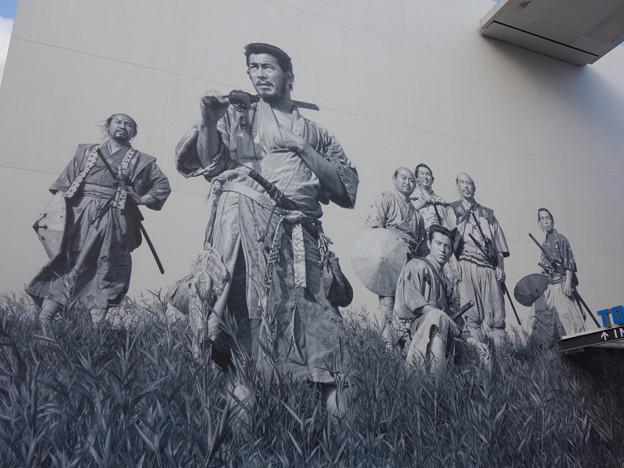 東宝スタジオ・七人の侍 (世田谷区成城)