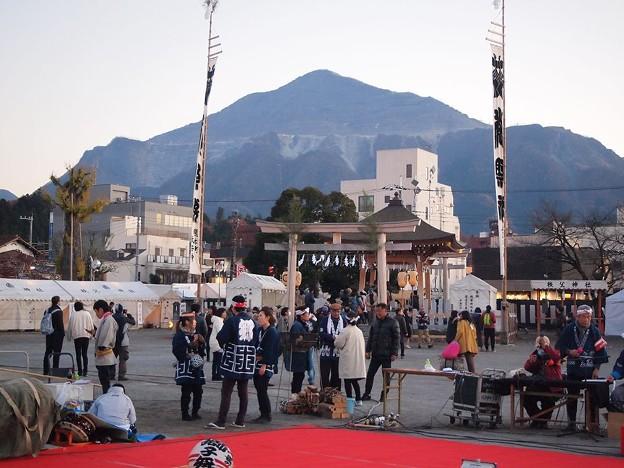 御旅所と武甲山