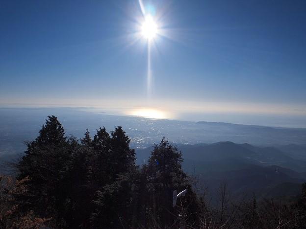 大山山頂より (3)