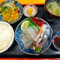 Photos: 鮮魚さかい ランチ 木金限定 刺身定食 呉市本通6丁目
