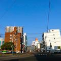 荒神三差路 広島市南区荒神町 2014年12月29日