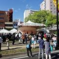 Photos: ひろしまフラワーフェスティバル 万貴音 GASLAND カラーステージ 広島市中区富士見町 平和大通り 2017年5月3日