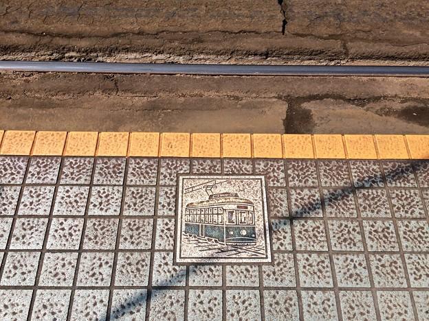 広島電鉄 本線 的場町電停 安全地帯 広島市南区的場町1丁目
