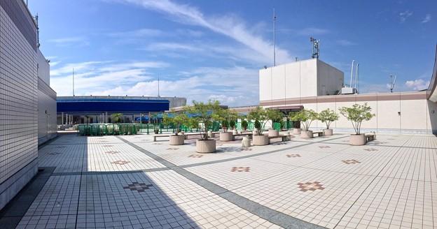 福屋広島駅前店 屋上 広島市南区松原町 2016年9月6日