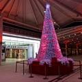 広島駅新幹線口 2階改札 クリスマスツリー 広島市南区松原町 2016年12月24日
