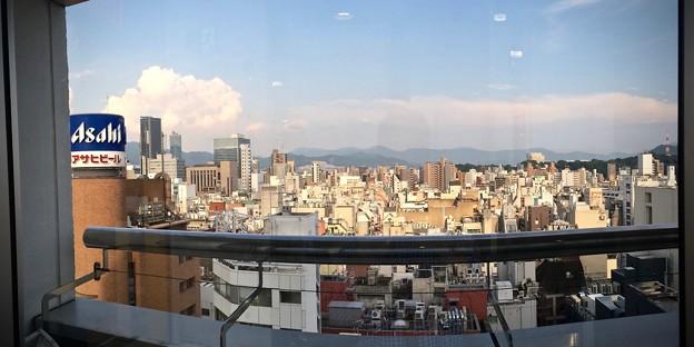 広島パルコ10階から流川町 薬研堀 2016年8月7日