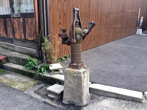 津田式ポンプ製作所 手押しポンプ 津田式ケーボー号 広島市南区金屋町9番