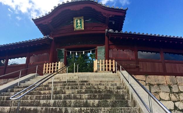 広島東照宮 唐門 翼廊 広島市指定重要有形文化財 広島市東区二葉の里2丁目