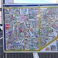 駅前通り周辺地図 広島市南区京橋町 稲荷町 的場町1丁目 2017年8月31日