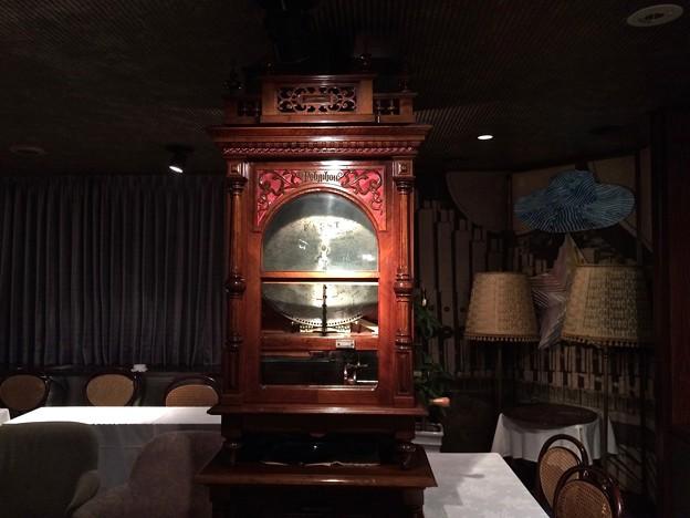ポリフォン ディスクオルゴール Polyphon antique symphonion disc music box 広島市中区紙屋町1丁目 星ビルオルゴールティーサロン