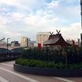 Photos: 友元神社 広島市南区松原町 EKICITY 2F デッキウォーク 2017年9月9日