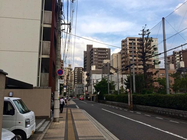 Photos: 縮景園入口 バス停 広島市中区上幟町 2017年8月23日
