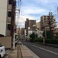 縮景園入口 バス停 広島市中区上幟町 2017年8月23日