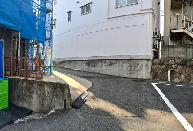 干拓堤防の名残 広島市南区宇品西1丁目 2016年11月4日