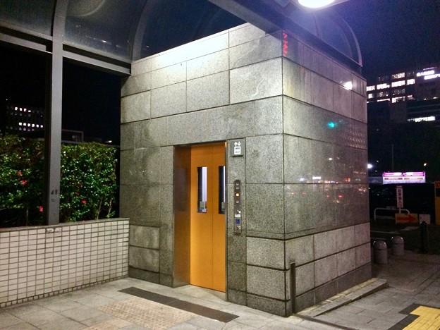 アストラムライン県庁前駅 エレベーター 広島市中区基町 2018年1月18日