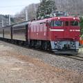 Photos: 赤い機関車に茶色い客車 @東北本線 白坂