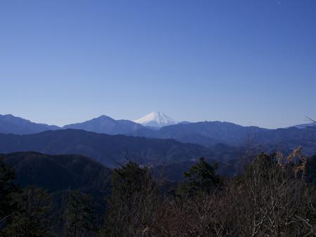 高尾山山頂から
